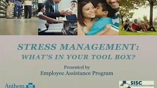 Stress Less Wellness Talks/Webinars: Managing Stress
