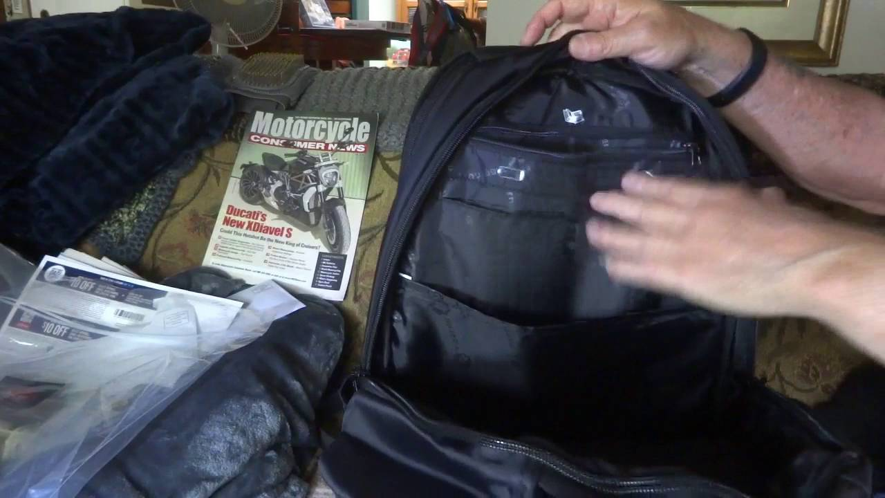 Kuprine Large Lightweight Business Laptop Backpack 17 Inch - YouTube 06f6d7cb15d18