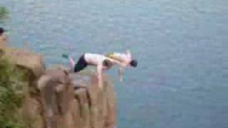 Extreme CT Cliff Jumping