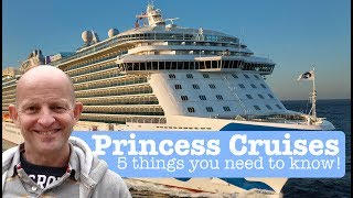 Princess Cruises Tips : 5 Things You Need To Know Before Cru...
