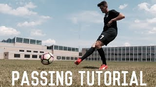 How To Improve Passing Accuracy | Simple Passing Tutorial | Fundamental Techniques For Footballers