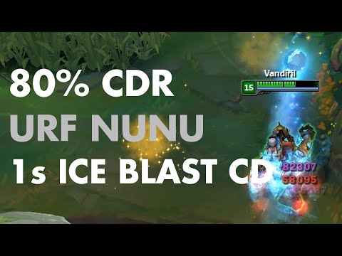 URF Nunu - 1s Ice Blast CD!