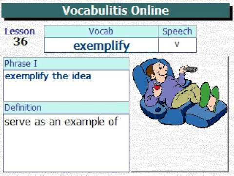 Vocabulary For SAT   Lesson 36