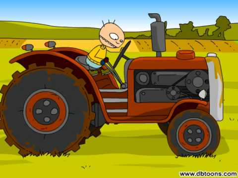 PLOK ! At the farm : The tractor
