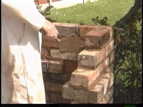 How To Build A Brick Braai Or Barbeque Youtube