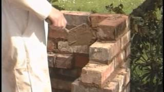 Build A Brick Barbeque (braai) And Planter