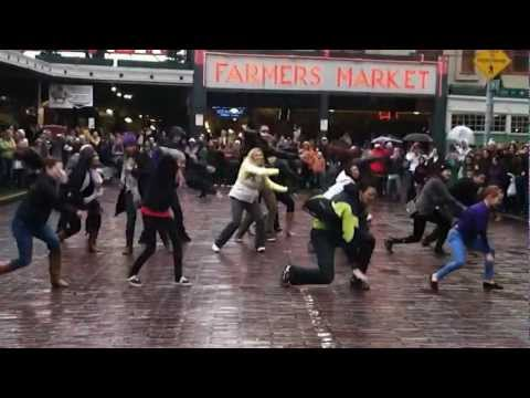 OFFICIAL Seattle Flash Mob Pike Place Market