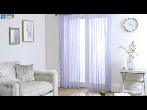 Lucy Pair Slot Top Curtains