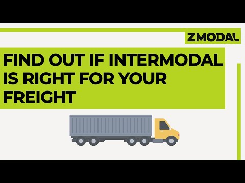 Is Intermodal Freight Right For Your Business ? | Zmodal
