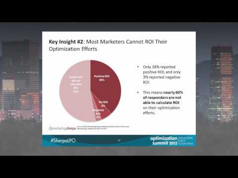 Dr. Flint McGlaughlin on marketers not tracking optimization ROI