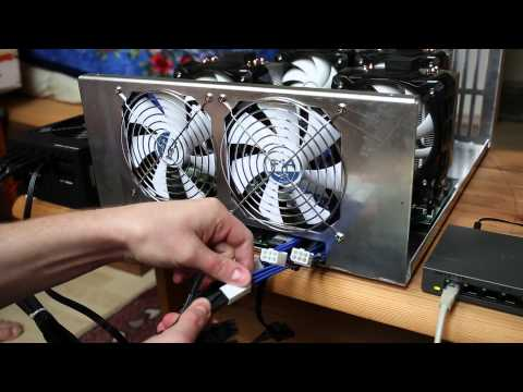 KnCMiner Jupiter - Bitcoin Miner 500GH/s+ 28nm ASIC Chips - Unboxing And Setup 1080p