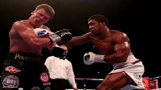 Joshua FINISHES Povetkin in the 7th RND