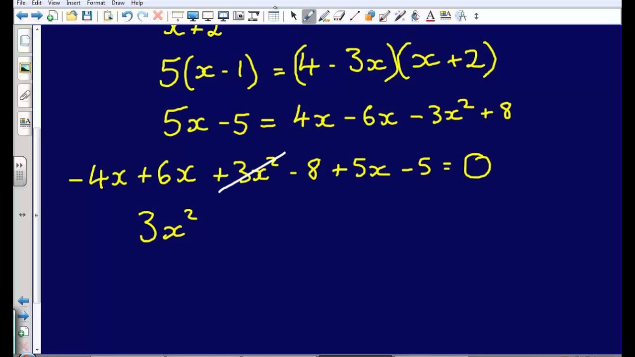 quadratic formula research paper Equations, with a small amount of research on how students understand variables and the graphs of quadratic functions very little is known about students' understanding of the.
