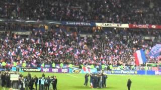 france 3 0 ukraine la marseillaise reprise par les joueurs et le public aprs le match