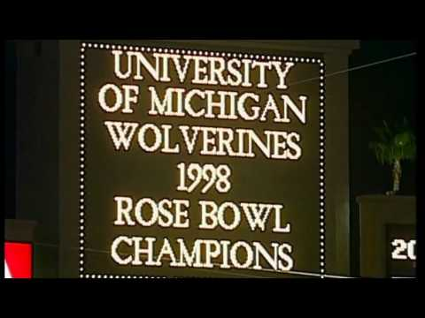 Big Ten Elite: 1997 Michigan Football 6  mp4