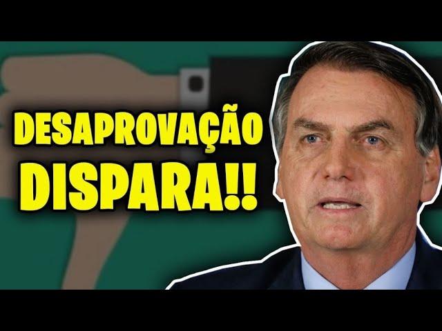 POVO REJEITA BOLSONARO EM PESQUISA!!
