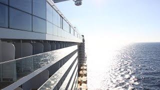 Secret spot on Royal Caribbean Anthem of the Seas for the best views