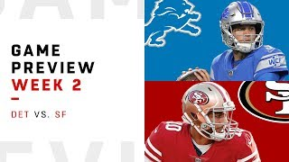 Detroit Lions vs. San Francisco 49ers | Week 2 Game Preview | NFL Playbook