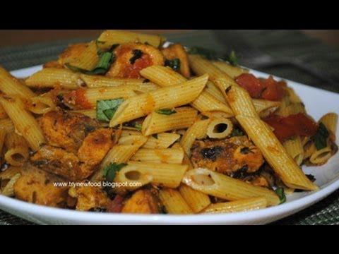 Pasta Biriyani In Spicy Chicken Masala
