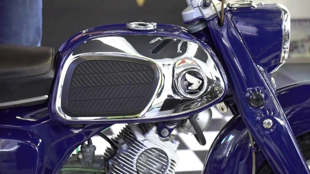 Download 1965 Honda CA95 Benly Touring 150cc