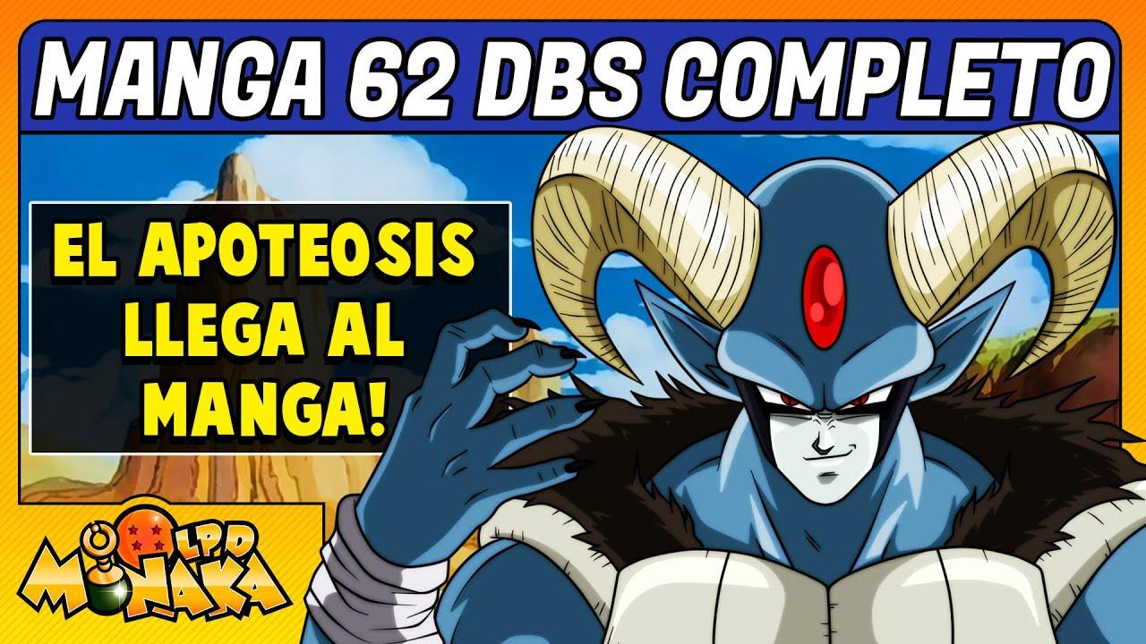 MANGA 62 DRAGON BALL SUPER COMPLETO Y EN ESPAÑOL   RESUMEN Y COMENTARIOS