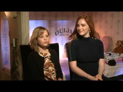 Ouija 2 Origin of Evil Interview with Lulu Wilson & Annalise Basso