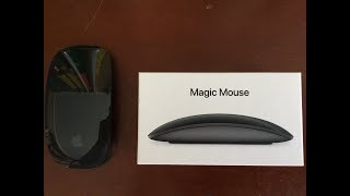 Magic mouse 2 black unboxing