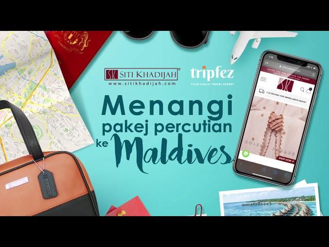 Jom pergi Maldives bersama SK!