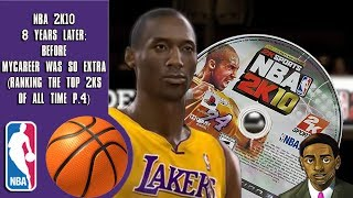 NBA 2K10 8 years later: Before MyCareer was so extra (Ranking the top 2Ks of all time P.4)