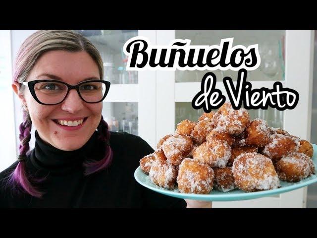 BUÑUELOS DE VIENTO CASEROS FÁCILES