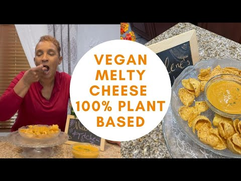 Vegan Cheese | 100% Veggie Cheese | Dairy Free | Melty Cheese | Nut Free Vegan Cheese |