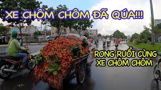 Đã Mắt Với Xe CHÔM CHÔM Chất Như Núi Rong Ruổi Khắp Sài Gòn