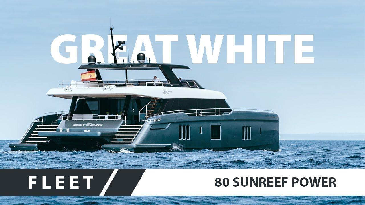 Rafael Nadal S Yacht 80 Sunreef Power Great White Youtube