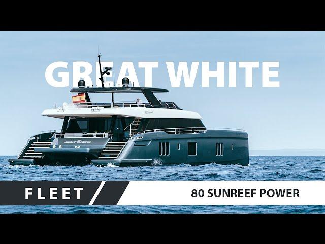Rafael Nadal's yacht 80 Sunreef Power Great White