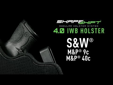 Best IWB Holster For S&W M&P9/40c - Alien Gear Holsters