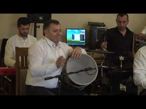 Армения. Барабан дхол Dhol, играет Норик Аветисян. 4 мая 2019 Агверан.