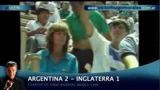 Argentina 2 - Inglaterra 1 (México ´86 - Víctor Hugo Morales) 1/