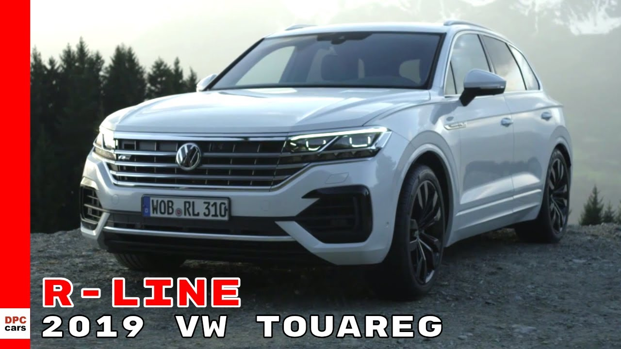 Volkswagen touareg r line 2019