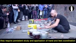 Three Fingerz Lab presents: Dario Rossi Drummer  - Official Video