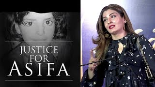 Raveena Tandon AVOIDS Reacting On Asifa Bano | Kathua Tragedy