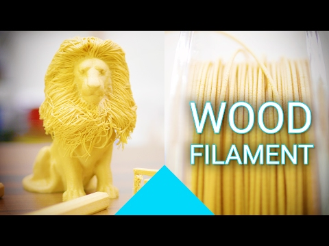 Woodworking with a 3D Printer - PrimaSelect WOOD review! #Filaween