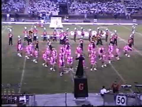 "1998 Gadsden High School ""Tiger Band"" - Mid-South exhibition performance"