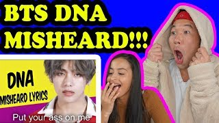 Video BTS TRY NOT TO LAUGH DNA Misheard Lyrics REACTION!!! download MP3, 3GP, MP4, WEBM, AVI, FLV Agustus 2018