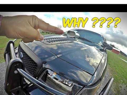 Heres Why I Installed a Ram Air Hood Scoop on my old cop car