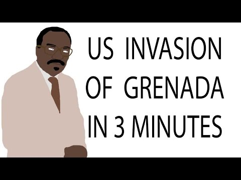 US Invasion of Grenada | 3 Minute History