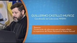 VI Encuentro Binacional de Museos 2016 - Expositor Guillermo Castillo Muñoz