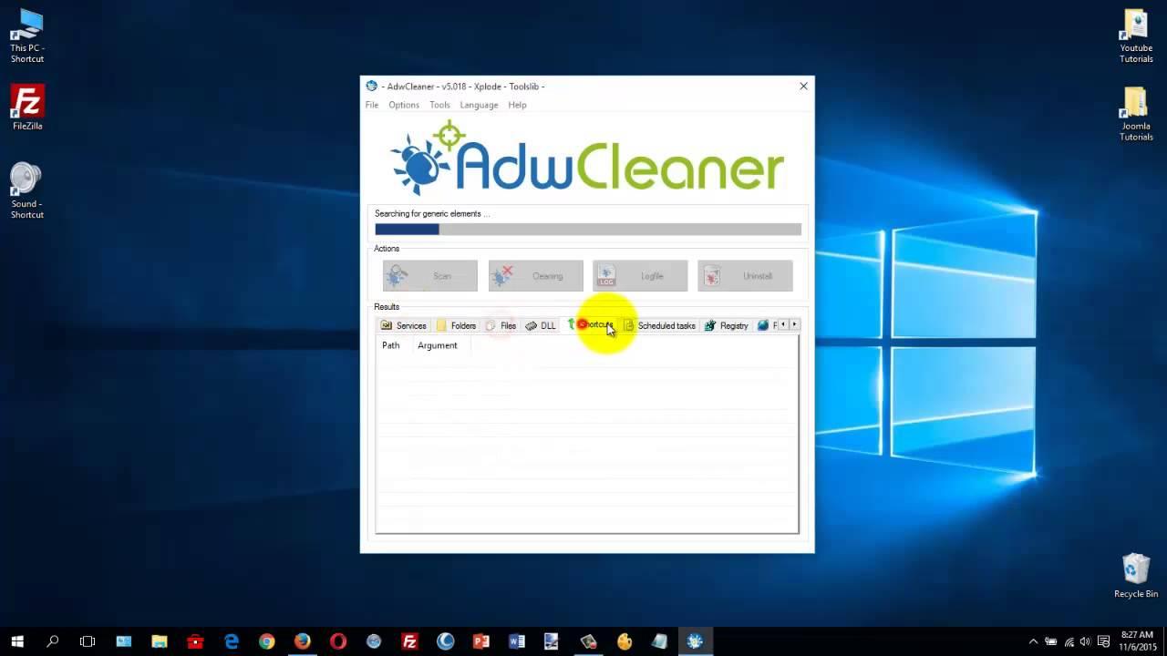 adwcleaner toolslib xplode