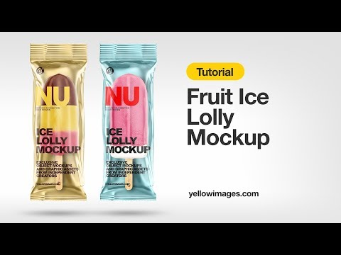 Download Yellow Images Tutorial How To Use A Mockup Fruit Ice Lolly Mockup Youtube PSD Mockup Templates