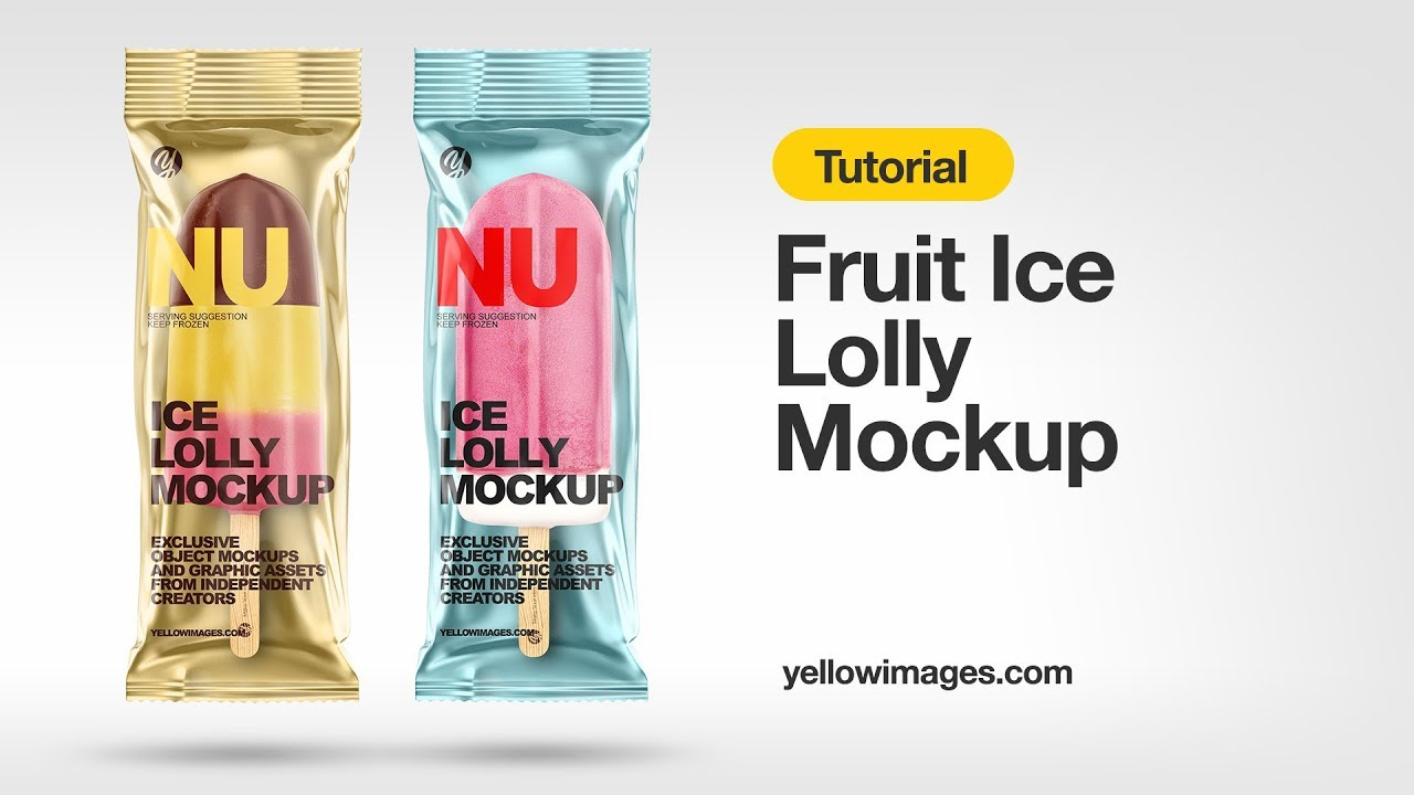 Download Yellow Images Tutorial How To Use A Mockup Fruit Ice Lolly Mockup Youtube Yellowimages Mockups