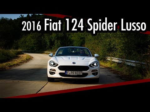 Test/Review Fiat 124 Spider Lusso 1.4 Multiair / Italien für